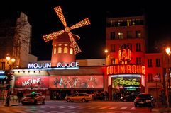 Moulin Rouge Royaltyfri Foto