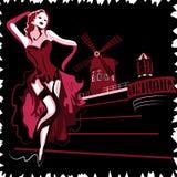 Moulin Rouge Lizenzfreie Stockbilder