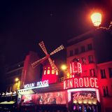 Moulin Rouge Royaltyfria Bilder