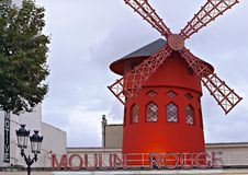 Moulin Rouge Lizenzfreies Stockfoto