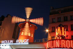 Moulin Rouge. From PAris city Royalty Free Stock Photo