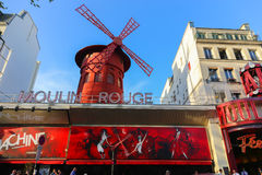 Moulin Rouge Stock Photos