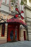 Moulin rouge. In Budapest Royalty Free Stock Photos