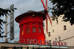 Moulin Rouge Cabaret Stock Images