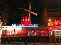Moulin Rouge Cabaret Royalty Free Stock Photo