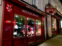 Moulin Rouge Cabaret Royalty Free Stock Photos