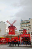 The Moulin Rouge cabaret in Paris Royalty Free Stock Photo