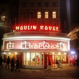 Moulin Rouge lizenzfreie stockfotografie