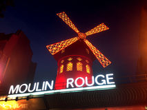 The Moulin Rouge Royalty Free Stock Photography