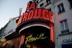 Moulin Rouge, Montmartre, Parigi, Francia Fotografia Stock