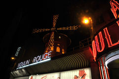 Moulin Rouge, Paris Royalty Free Stock Photo