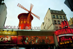 Moulin Rouge, Paris - Stock Photo