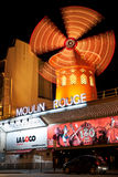 Moulin Rouge, Paris Royalty Free Stock Photo