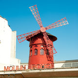 The Moulin Rouge in Paris Stock Photography