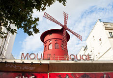 Moulin Rouge,Paris Stock Image