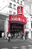Moulin Rouge,Paris Stock Photography