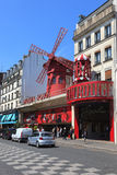 Moulin Rouge in Paris Royalty Free Stock Photos