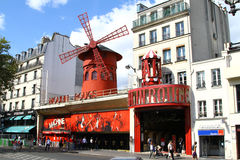 Moulin Rouge in Paris Stock Photos