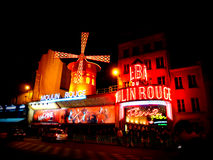 Moulin Rouge, Paris Stockbild