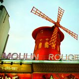 moulin rouge Stock Photography