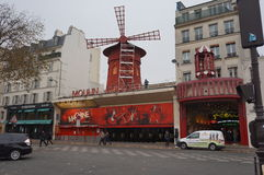 Moulin Rouge in Paris Stockfoto