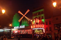 The Moulin Rouge- Paris Stock Photo
