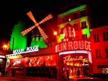 The Moulin Rouge- Paris Royalty Free Stock Photos