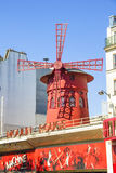 The Moulin Rouge, Paris Royalty Free Stock Photos