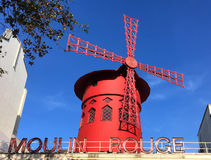 Moulin Rouge Paris Stock Photography
