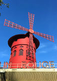 Moulin Rouge Paris Stock Photos