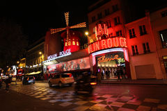 Moulin Rouge, Paris Stock Photography
