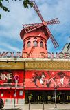 Moulin Rouge, Paris, France Stock Photo