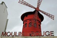 Moulin Rouge, Paris, France Stock Photos