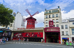 Moulin Rouge - Paris, France Stock Photo