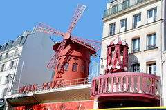 The Moulin Rouge in Paris, Stock Photos