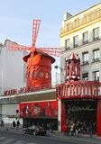 Moulin Rouge Royalty Free Stock Photos