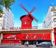 The Moulin Rouge  Stock Photography