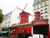 Moulin Rouge, Paris Royalty Free Stock Photos