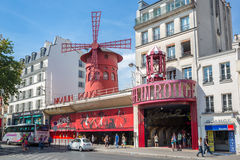 The Moulin Rouge Royalty Free Stock Images