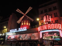 Moulin Rouge - Paris Stock Photography