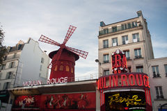The Moulin Rouge - Paris Stock Photo