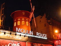 Moulin Rouge Stock Image