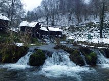 moulin sur l'eau Photo libre de droits