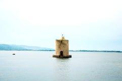 Moulin sur l'eau l'Italie Image libre de droits