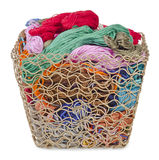 Mouline and basket Royalty Free Stock Images