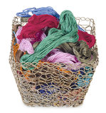Mouline and basket Royalty Free Stock Photo