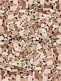 Moulings de madeira, pilha. Foto de Stock Royalty Free