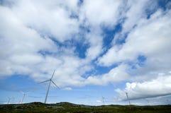 Moulins à vent Images stock