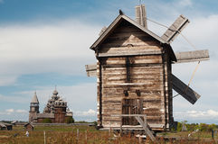 Moulins à vent Image libre de droits
