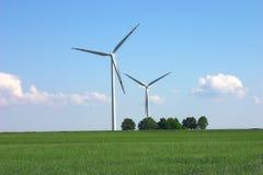 Moulins à vent Image stock